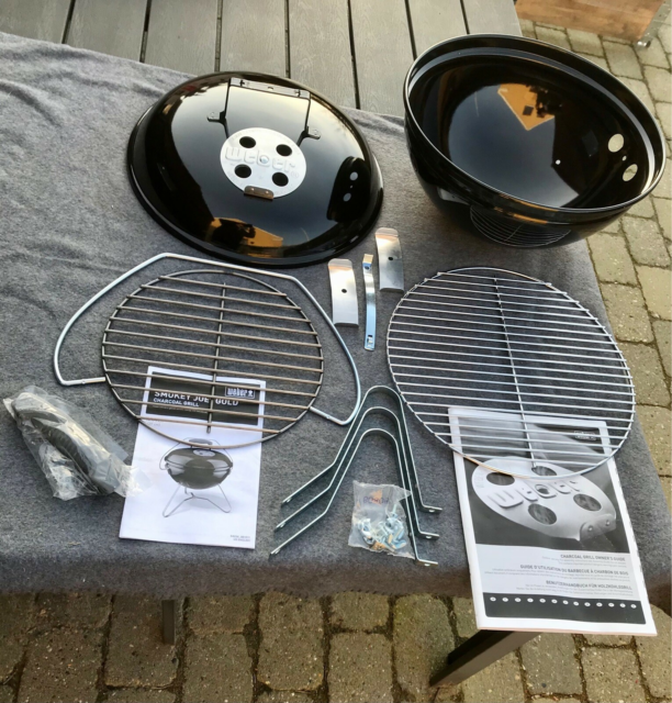 Kuglegrill, Weber Smokey Joe Gold, Helt ny Weber Smokey Joe…