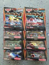 Disney Cars NEON Racers Set of 8 including FROSTY AND SHU TODOROKI