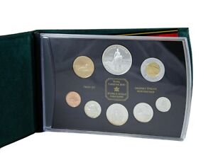 1998-RCM-Sterling-Silver-8-Coin-Set-with-Proof-Dollar-Celebrating-125-with-RCMP