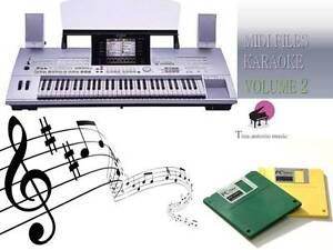 MIDI File Karaoke Floppy Disk Set for TYROS NEW Volume 2