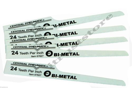 5 FINE /& 5 COARSE Bi-Metal Air Body Saw Replacement Blades