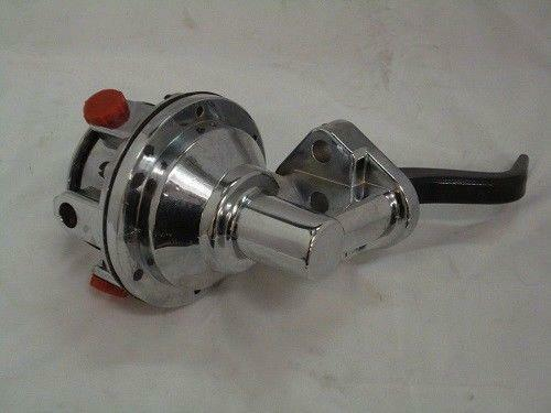 Ford Chrome High Volume Mechanical Fuel Pump Gas Pump 429 460 V8 NEW