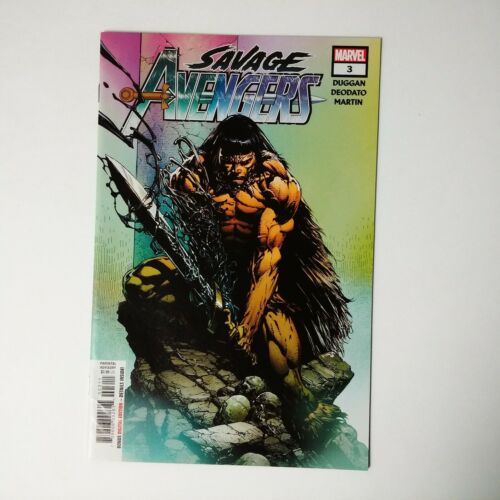 Savage Avengers #3 Cover A 1st Ptg Regular David Finch Cover