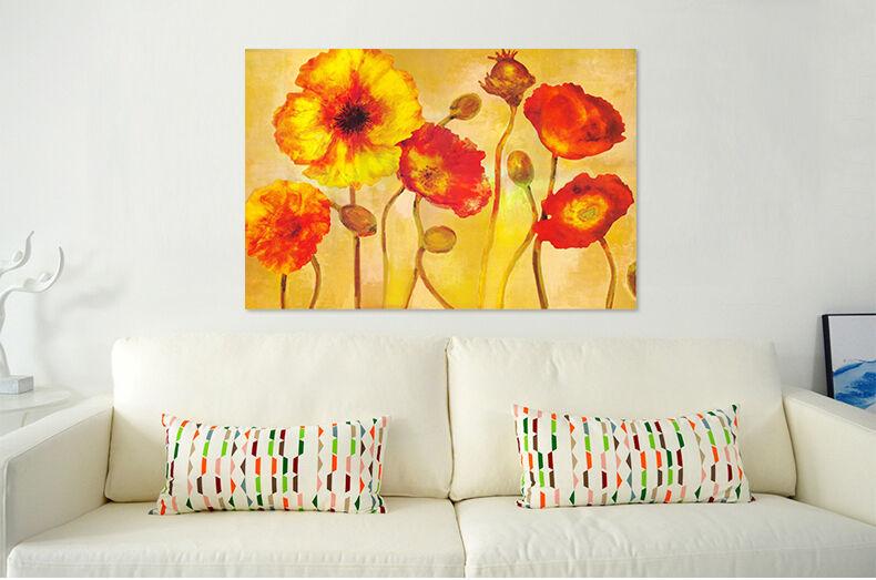 3D Hohe Farb Blumen 329 Fototapeten Wandbild  BildTapete Familie AJSTORE DE