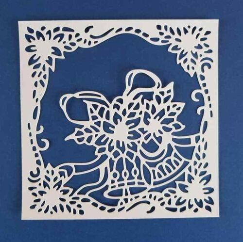 3 x navidad stanzteile kartenaufleger tarjetas joyas scrapbooking bricolaje