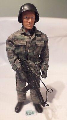 1/6 La Pace Custode Action Figure Soldato-danni A Gun-lotto B524-mostra Il Titolo Originale