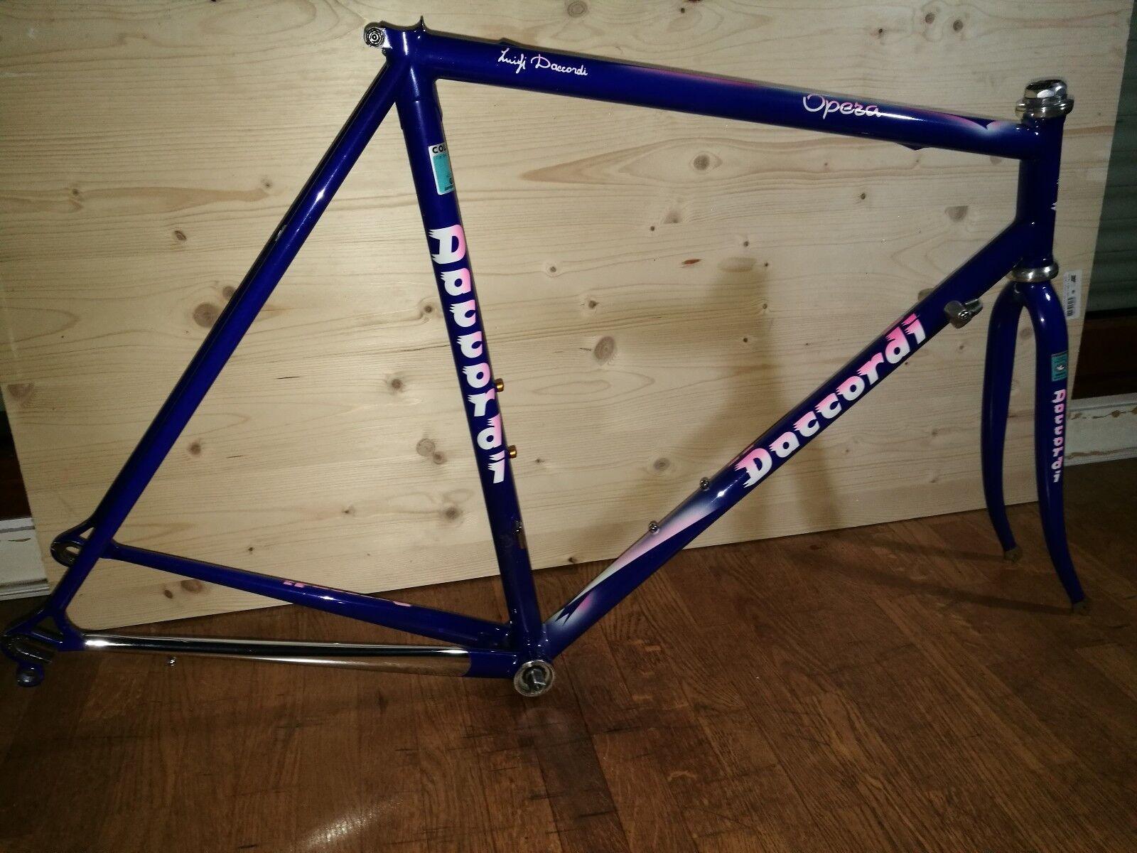 Daccordi Opéra Road Bike Frameset cadre Columbus Genius + Campagnolo parts