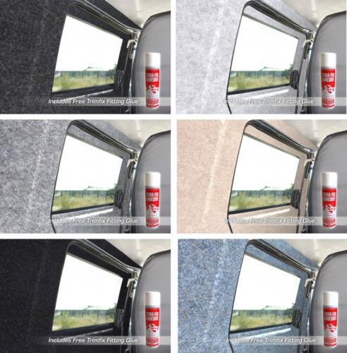 20 sqm Camper Van Lining Carpet Kit Super Stretch Inc 10 Cans Trimfix Adhesive