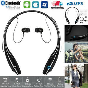Bluetooth Headphones Wireless Neckband Stereo Headset Earphone Fr Iphone Samsung Ebay