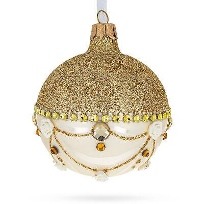 Golden Chandelier Glass Ball Christmas Ornament   eBay
