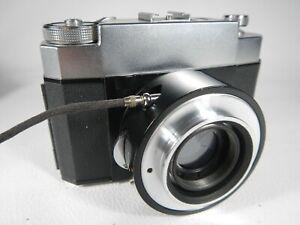 Carl-Zeiss-West-ZEISS-IKON-microscopkamera-con-chiusura-a-Compur-e-Tubus