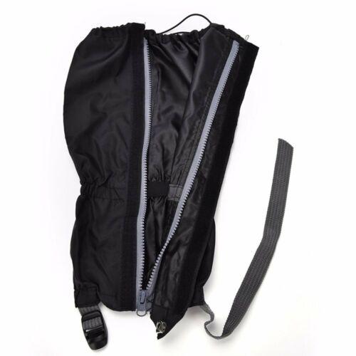 Waterproof Gaiters Leg Nylon Cover for Outdoor Hiking Walking Climbing Snow USA