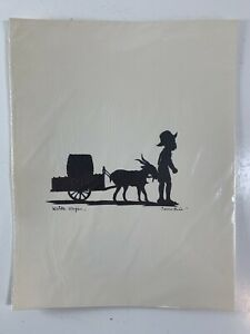 Vintage-Carew-Rice-Silhouette-PRINT-Water-Wagon-Charleston-SC-8-5-x-11-034