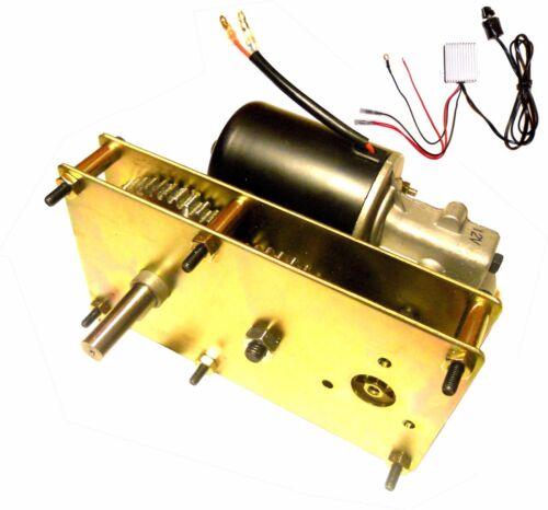 Variable Speed 12V DC 5RPM Conveyor and BBQ Hog Pig Rotisserie Smoker Spit Motor