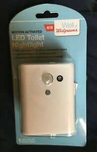 Motion Activated LED Toilet Nightlight, With 7 Colors and Brightness Control