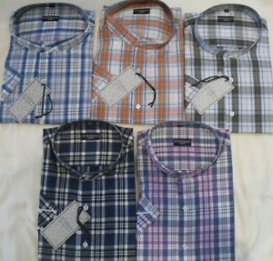 Hombre Tallas Grandes Fitzgerald Abuelo C Camisas 2xl 3xl 4xl 5xl 6xl 7xl Ebay