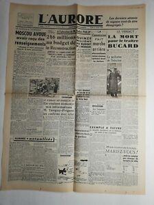 N265-La-Une-Du-Journal-L-039-aurore-21-fevrier-1946-Moscou-avoue