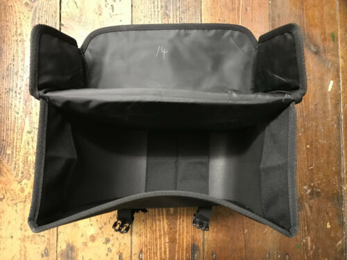 M-Wave Box Style Left Hand Black Hook On Pannier Bag BNWT