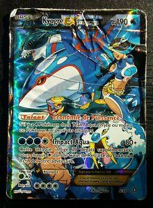 Carte Pokémon - Kyogre EX Holo 190 PV 6/34