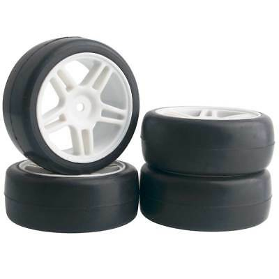 Wheels, Tires, Rims & Hubs Rc 905w-6018 Rubber Tires & Wheel Plastic 4pcs For Hsp Hpi 1/10 On-road Car Up-To-Date Styling Radio Control & Control Line