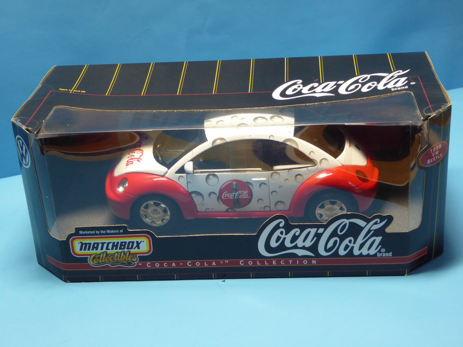 Matchbox 1 18 VW Beetle  COCA-COLA  with OVP (OR25