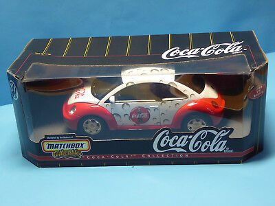 MATCHBOX VW BEETLE CABRIO COCA-COLA OVP MINT