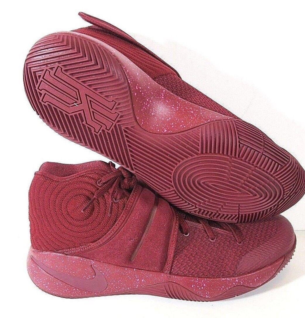 NEW Nike Kyrie 2 Red Velvet Maroon 819583-600 Irving Cavs RARE shoes Size 13.5
