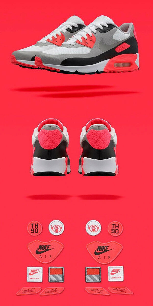 Nike Air Max 90 INFRARED Patch OG Pack 2015 AIR MAX DAY