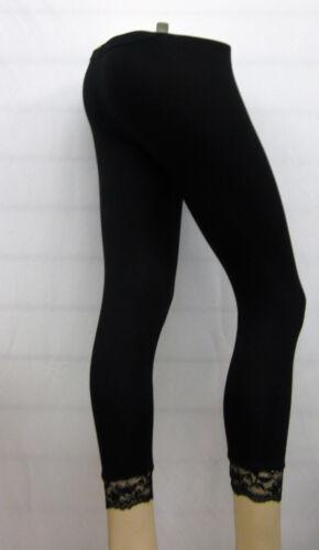 Brand new Ladies Bottom Lace 3//4 legging shorts 95/% Viscose 5/% Elastane Stretch