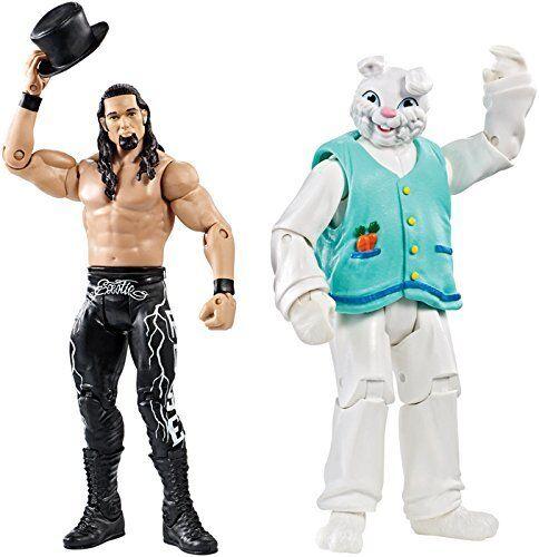 WWE ADAM ROSE /& THE BUNNY NXT WWF BATTLE PACK MATTEL SERIES 38 WRESTLING FIGURE