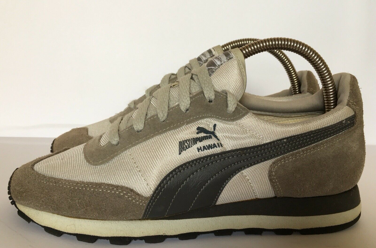 Puma Zapatos De Hawaii Vintage RAREZA hecho en Alemania Occidental