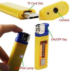 Fosforera Con Camara Espia Blue Mini Dv Lighter Hidden Spy