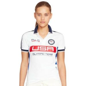 Image is loading Polo-Ralph-Lauren-Team-USA-Olympic-women-039- cf796643be