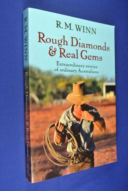 ROUGH DIAMONDS & REAL GEMS RM Winn AUSTRALIAN BUSH OUTBACK BIOS book