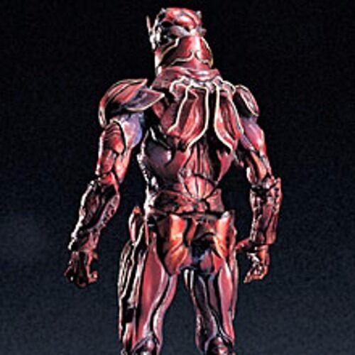 S. I.C.Limitato Mascherato Kamen Rider Zo Doras Rosso Versione Action Figure