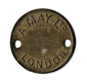 "Stratford Market ""A. May Ltd"" 2 Shilling 32mm Token"