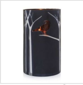 Yankee-Candle-Raven-Night-Jar-Or-Pillar-Candle-Holder-Hurricane-Halloween-Gift