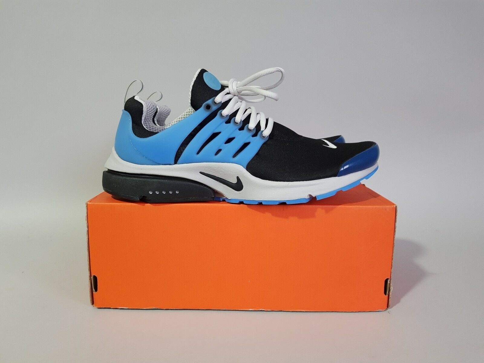 NIKE AIR PRESTO QS BLACK ZEN GREY HARBOUR blueeE UKXL USXL EUXL 789870-005