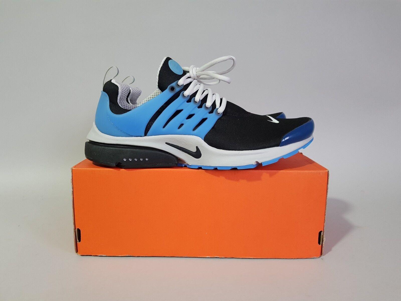 Nike air presto qs nero / zen grey / harbour blu ukxl / usxl / euxl 789870-005