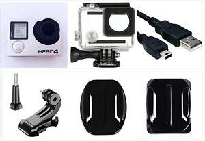 GoPro HERO 4 Black Edition 4K 1080P HD Camera Camcorder w/ waterproof case WiFi