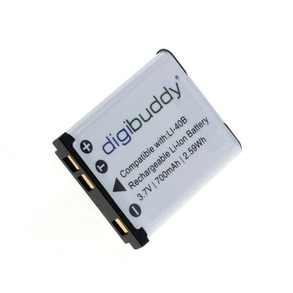 Premium Akku Accu Battery für Olympus FE-320 / FE-330 / FE-340