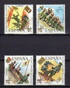 A7795-Spain-1971-Scott-1685-88-MNH-Legion