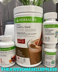 Details About Herbalife Quickstart Weight Loss Program All Shakes Tea Flavors Available