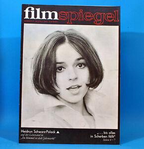 GDR-Filmspiegel-9-1969-Alfred-Muller-Paul-Newman-Heidrun-Schwarz-Polack-Boeden