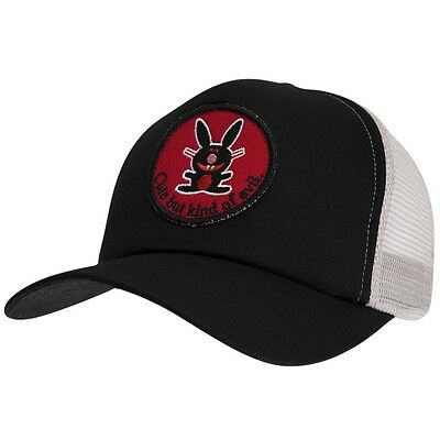 Cute But Psycho Trucker Cap Happy Bunny