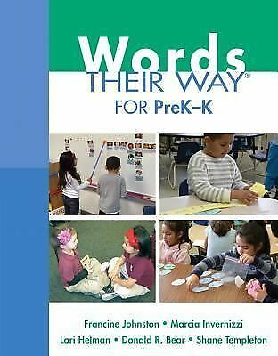 Words Their Way Ser.: Words Their Way for Prek-K by Lori Helman, Marcia...