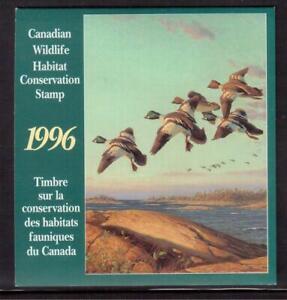 CANADA-1996-CANADIAN-WILDLIFE-HABITAT-CONSERVATION-BOOKLET-A82