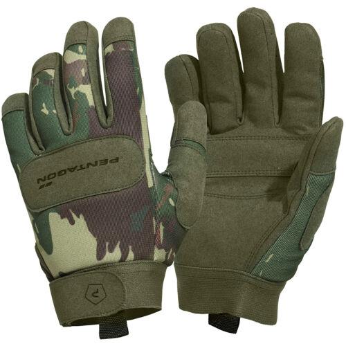 Pentagon Duty Mechanic Gloves Protective Breathable Work Tactical Greek Lizard