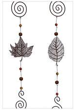 Girlande Metall Blätter 2er-Set (459350) NEU Herbstlaub Weihnachten Deko Herbst