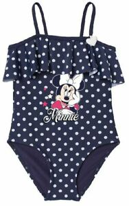 Minnie Mouse Badeanzug Mädchen Bikini Bademode Gr. 104 110 116 122 128 134 NEU